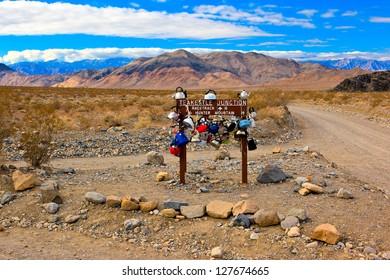 Teakettle Junction, Death Valley National Park, California