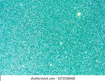 Teal blue background glitter sparkle background