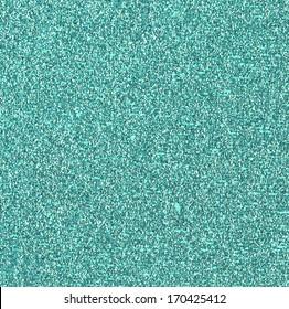 Teal Glitter Background