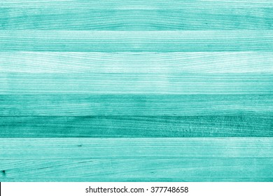 Teal or turquoise green painted wood background texture - Shutterstock ID 377748658