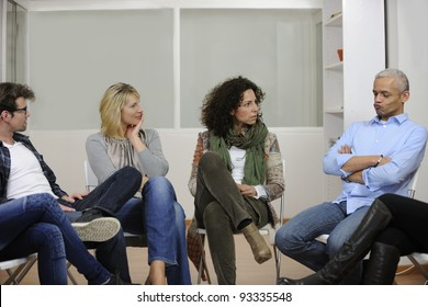 team building, group discussion or therapy