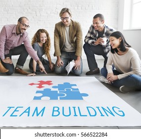 Team Building Group Work Concept