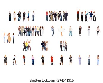 Team over White Office Culture  - Shutterstock ID 294541316