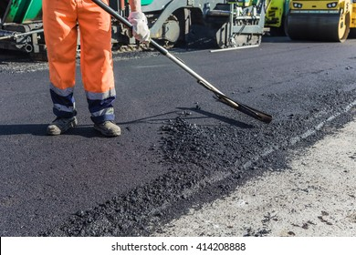 Team pave the roadway