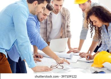 Team of professional engineers