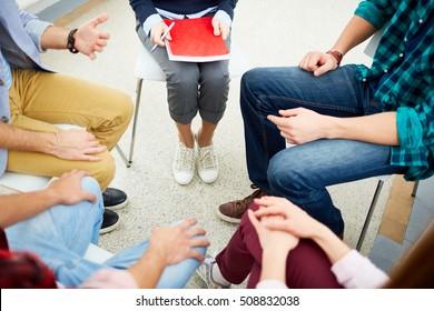 Team of psychologists