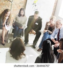 Team Teamwork Meeting Start up Marketing Concept