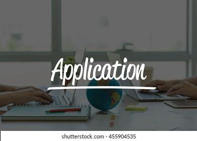 TEAMWORK OFFICE BUSINESS COMMUNICATION TECHNOLOGY  APPLICATION GLOBAL NETWORK CONCEPT