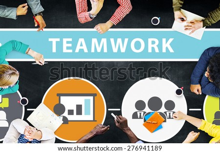 Teamwork Team Collaboration Connection Togetherness Unity