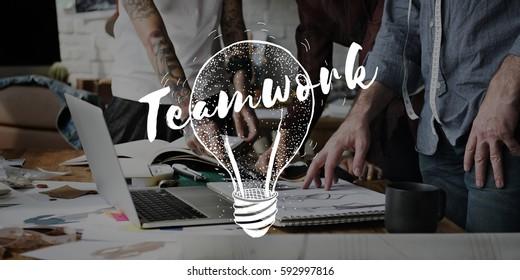 Teamwork Team Fashion Design Collaboration - Shutterstock ID 592997816