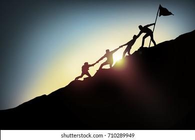 Teamwork,Success concept