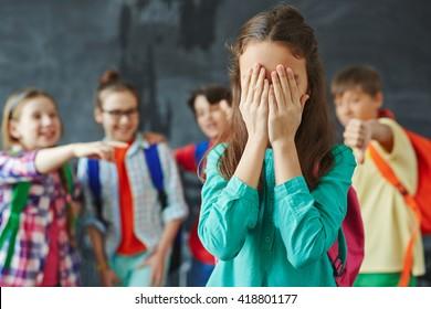 Teasing classmate