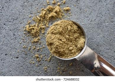 A teaspoon of ground cumin