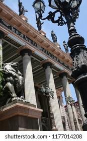 Teatro Juarez historic 1800s theater in Guanajuato Mexico