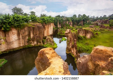 Tebing Koja Cliff Park or also known as Godzilla Cage Park, located in Tangerang Banten, about 1 hour drive from Jakarta.