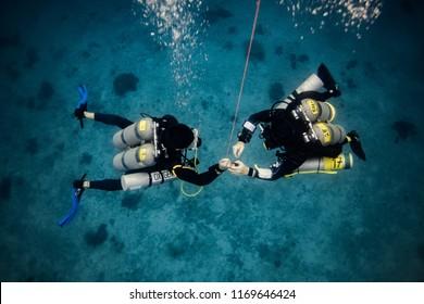 Tec diving, decompression stop