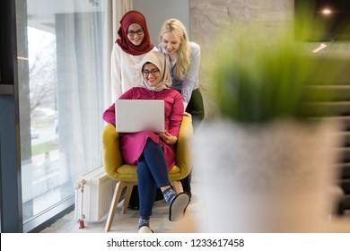 Tech office, tech company, tech startup, tech team