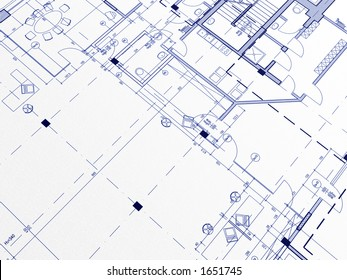 Technical cad documentation architectural background