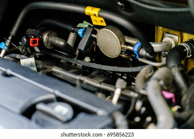 Technical check of the car engine