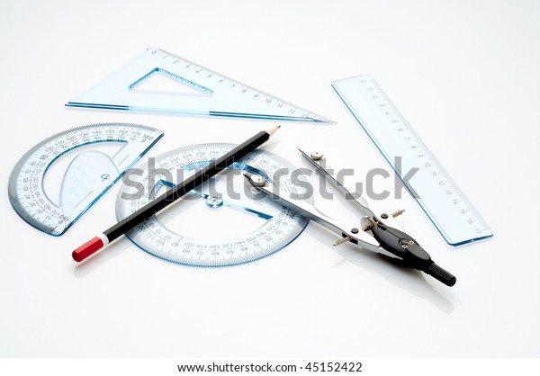 Technical Drawing Instruments Stock Photo (Edit Now) 45152422