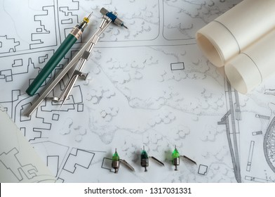 Technical drawing and tools for sketching