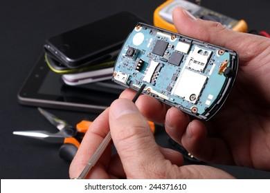 Technical repair phone