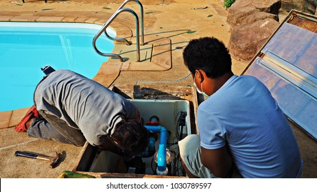Downed wires images stock photos vectors shutterstock for Swimming pool technician tools