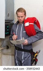 Technician  for heating system
