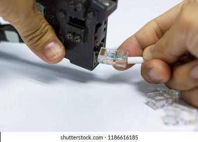 Awe Inspiring Cat5 Images Stock Photos Vectors Shutterstock Wiring Database Gramgelartorg
