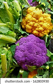 Technicolor cauliflower due to selective breeding