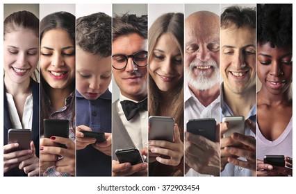 Personas tecnológicas