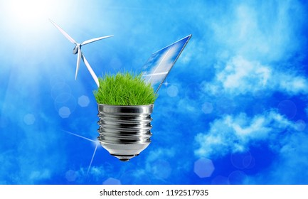technologies green energy concept