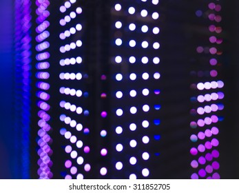 Technology Abstract background Led light pattern perspective
