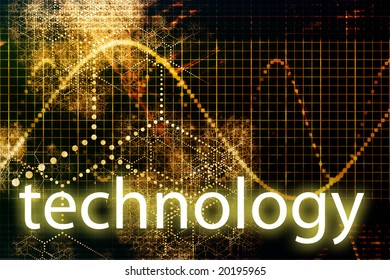 Technology Abstract Business Concept Wallpaper Presentation Background