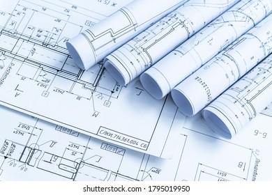 Planes tecnológicos. La parte del proyecto de ingeniería.