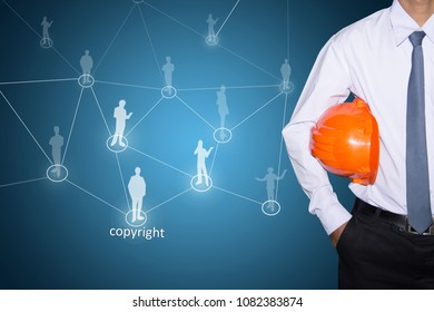 Technology and business systems, and the Internet - keys of copyright search.