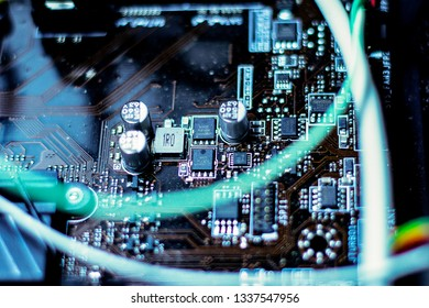 technology computer motherboard chips