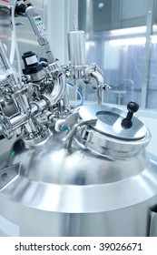 Technology equipment in a pharmaceutical manufacturing facility
