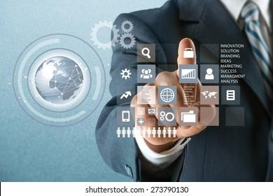 Technology, Internet, Futuristic.
