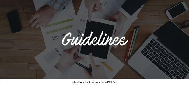 TECHNOLOGY INTERNET TEAMWORK GUIDELINES CONCEPT