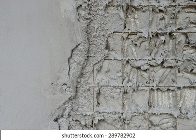 Technology reinforced concrete walls within the styrofoam