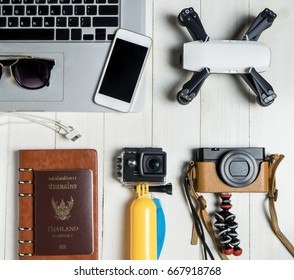 Technology Travel blogger Hi tech gadget and accessories