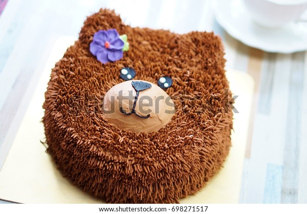 Tremendous Teddy Bear Birthday Cakes Afternoon Tea Stock Photo Edit Now Personalised Birthday Cards Epsylily Jamesorg