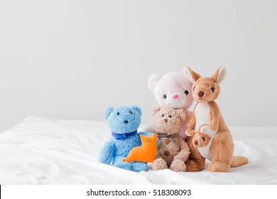The teddy bear and the gang