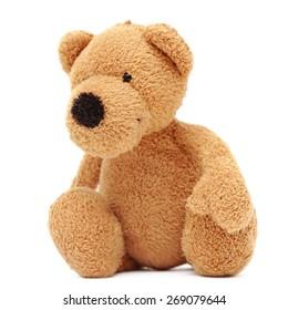 Teddy bear isolated