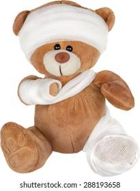 Teddy Bear, Physical Injury, Broken.
