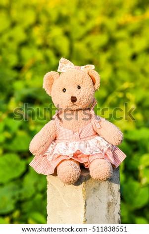 Light Foto Now511838551 d'archivioModifica Bear Warm Toy Teddy SVUzpqGM
