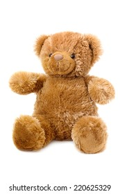 Teddy-bear isolated on a white background