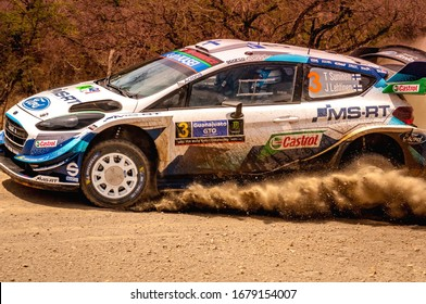 Teemu Suninen (FIN) of team M-Sport Ford WRT in Shakedown during the FIA World Rally Championship Mexico in León, Guanajuato, México on March 12, 2020