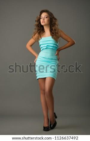 Teen girl figure